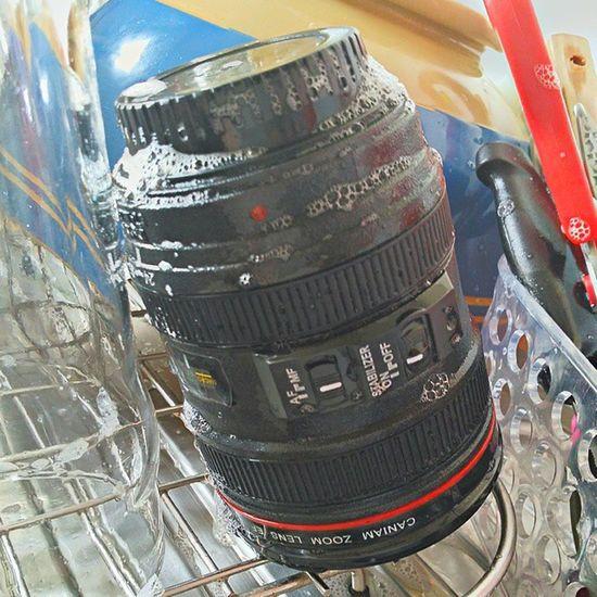 That's my lens (mug) washed up :-) Xmaspresent Dontpanic