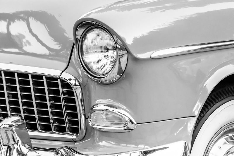 Automobile Black And White Car Classic Car Close-up Collector's Car Day Detail Headlight Land Vehicle Luxury Mode Of Transport Monochrome No People Old Old Fashioned Old-fashioned Outdoors Shiny Street Photography Streetphoto_bw Tire Transportation Vintage Vintage Cars
