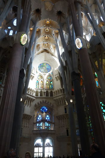 Architecture Barcelona Church Church Gaudi Sagrada Familia