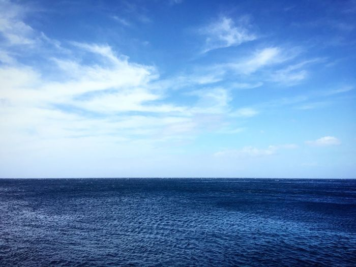 Horizon Nature Photography Endless Canary Islands Tennerifa View Horizon Atlantic Ocean Sky Water Sea Cloud - Sky Horizon Over Water Tranquil Scene Scenics - Nature Beauty In Nature Blue Nature Day No People Waterfront Idyllic Outdoors Horizon Tranquility Non-urban Scene