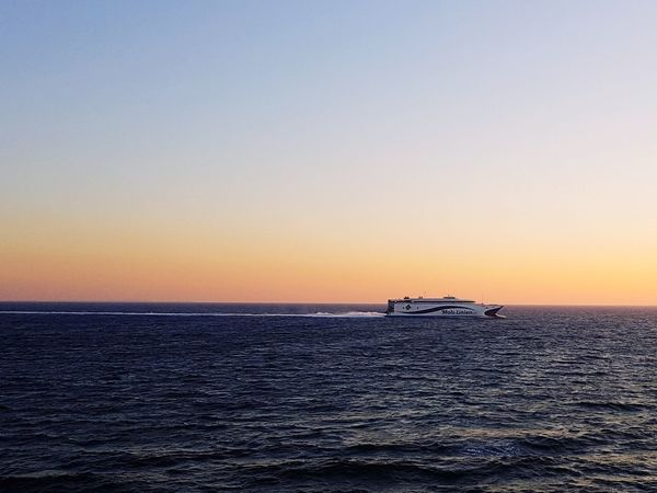 Sea Sunset Nautical Vessel Horizon Over Water Nature Beauty In Nature Water Sailing Sunset_collection Beautiful Nature Beauty In Nature Beatiful Nature Travel Destinations Beatyful Nature Beaty Of Nature Beaty In Nature Beauty Of Nature Nature Ferry Ride Ferry Boats The Traveler - 2018 EyeEm Awards
