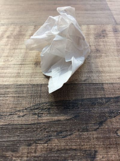 EyeEmNewHere Wrinkled Close-up Rubbish Mistake Wooden Unsuccessful Trash Sheet Rough Recycle Office Project Problems Messy Failure  Creative Concept Ball Wooden Table Tissue Paper Paper On Table. Eyeem Collection Selected For Premium Crumpled Paper Crumpled Paper Indoors  No People Day