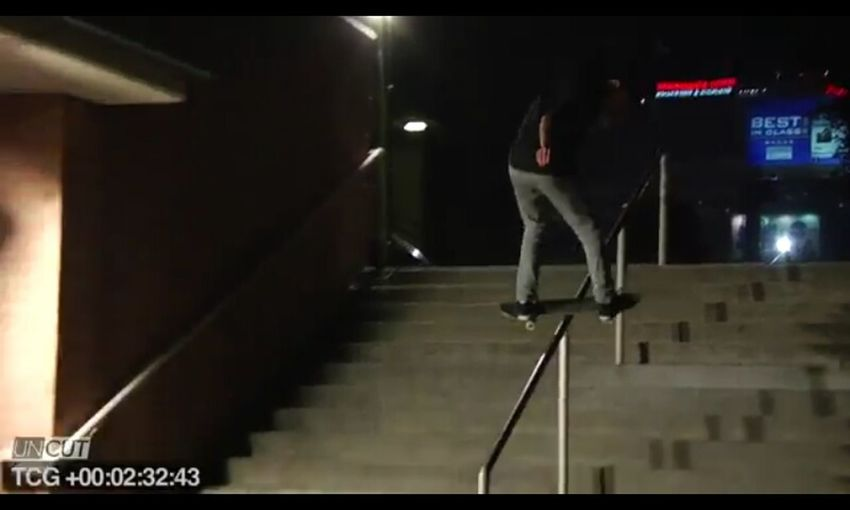 Got that kickflip backside lips on Hollywood high !!!!!!!!
