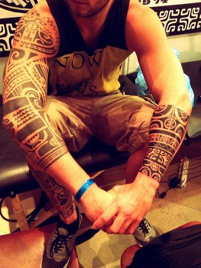 Tattoo Marquisien Polynesian