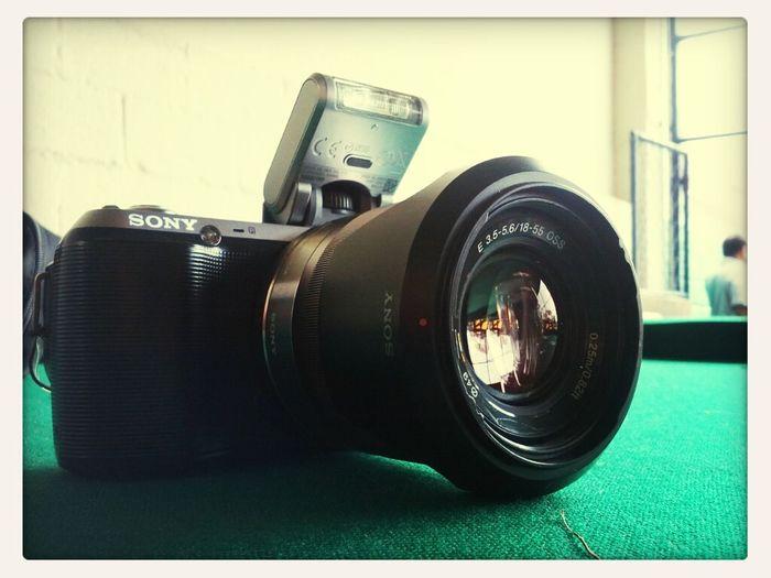 Hoje está é a minha ferramenta de trabalho, além da criatividade. ;-) Trabalho Lazer Fotografia Futebol