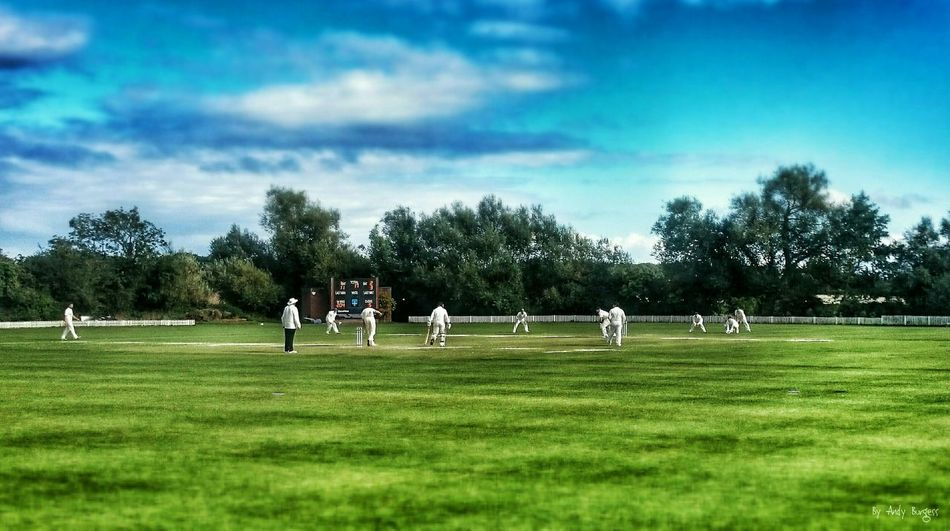 A spot of cricket Relaxing EyeEm Gallery Landscape_photography EyeEmBestPics EyeEm Best Shots Creative Photography Photography Sports Photography Cricket! Check This Out Tiltshift CreativePhotographer Original Photography Originalwork Open Edit Eeyem And Gety Eye4photography  Mystyle Shades Of Blue Capture The Moment Landscapes Blue Wave Colour Of Life