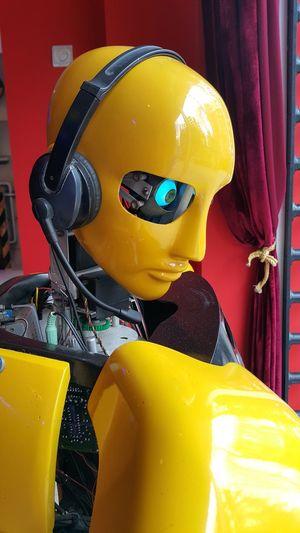 EyeEmNewHere Robot Robotics Robot Show Robotman