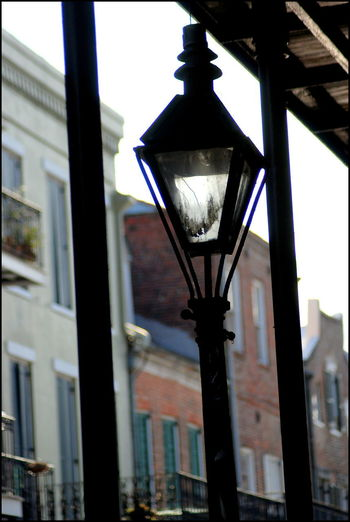 Frenchman Street Frenchman Street New Orleans Lamp Post New Orleans, LA Architecture Building Exterior Day Hanging Lantern No People Outdoors