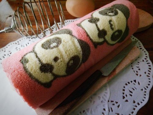rollcake panda character Rollcake  Rollcakes Endessoftcake Cepu Blora