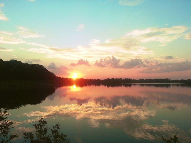 Enjoying The Sights Nature Water Reflections