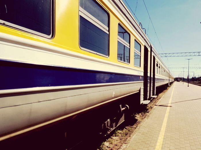 nostalgic train from Latvia Sky Passenger Train Railway Bridge Tramway Station Train