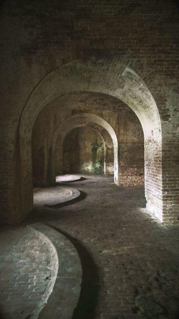 Fort Pickens Civil War Civilwarfort Architecture Interior Architecture