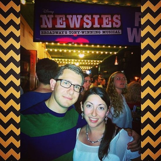 NYC Show Time AwesomeSauce Broadway theater Newsies