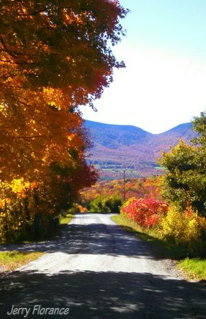 Fall in Danby, Vermont