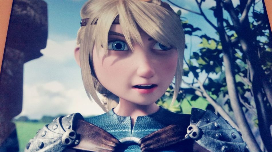 Love this show 💕 How To Train Your Dragon Astrid Racetotheedge First Eyeem Photo Netflix