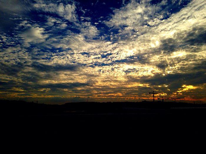 Sunset Cloudporn Clouds Nature