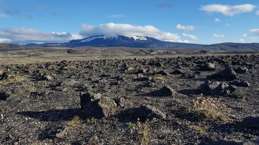 Arid Climate Arid Landscape Beauty In Nature Cloud Cloud - Sky Dramatic Landscape Extreme Terrain Geology Hekla Iceland Landscape Mountain Mountain Range Nature Non-urban Scene Physical Geography Remote Sand Scenics Sky Tourism Tranquil Scene Tranquility Travel Destinations Vulcano