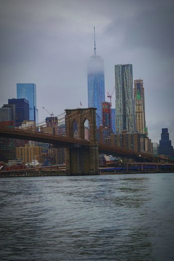 Cloudy Skies WorldTradeCenter under Attack its going to Pourheavily