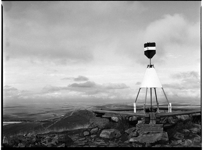 Mt. John observatory. New Zealand Mamiya 645 Tri-X