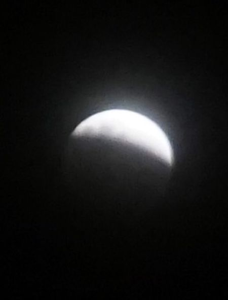 Blue blood super moon 31.1.2018 Kota Kinabalu Sabah malaysia 9pm Super Moon 2018 Blood Moon 2018 Blue Moon 2018 Moon Night Dark No People Beauty In Nature Astronomy Nature