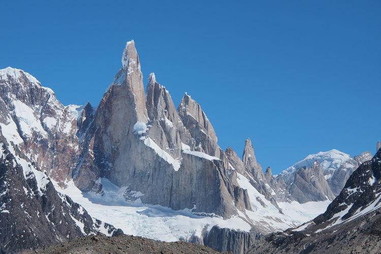 Cerro torre mountain range, patagonia, argentina