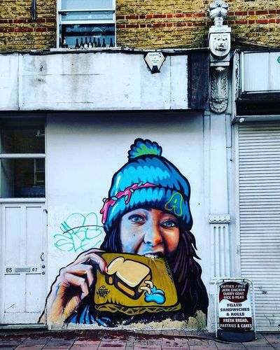 Thisislondon Londonlife Londoners Brixton Streetsoflondon Art Streetart StreetArtEverywhere Streetartistry London