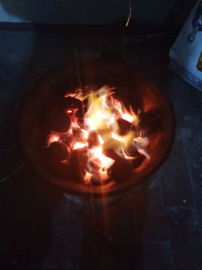 Gin Tonic Fire Celebrating