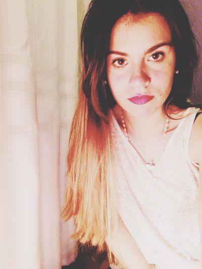 Tb Colours Serious Crazy CrazyHair Crazy Moments Follow Me On Instagram Flopi.guzman Whatever Happiness Hair Style Love Me Bored Face Me :)  Shirt Selfie Diamond Ipod5