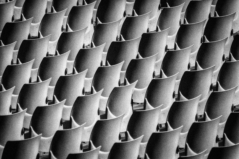 Army Backgrounds Close-up Full Frame Large Group Of Objects No People Pattern Seats Theatre Trebüne