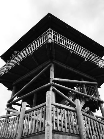 Made With IPhone 7 Black & White Bw Built Structure Architecture Low Angle View Sky Building Exterior Nature Day No People Outdoors Building Cloud - Sky Metal Travel Destinations Pattern The Past Architectural Feature History Roof Wood - Material Architectural Column
