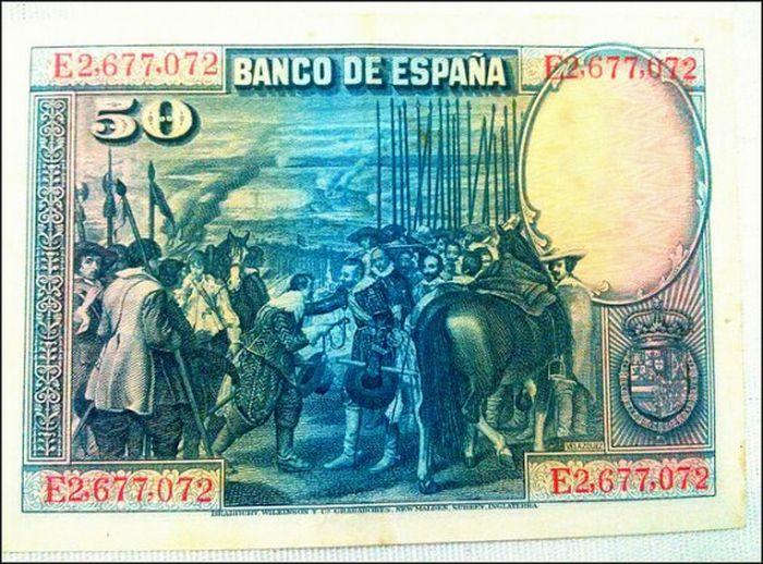 Peseta Pesetas Mono Dinheiro Antigo Dinheiro Money Moedas