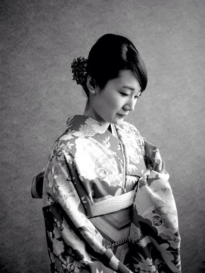 Portrait Of Japanese Woman