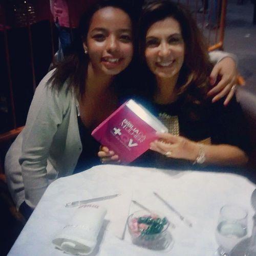 Não tem como explicar o prazer q é estar com a mãezona @bispasonia e o manual da felicidade depois dessa Ceia maravilhosa! Amomuitotudoisso Teamo SubmissãoApostólica