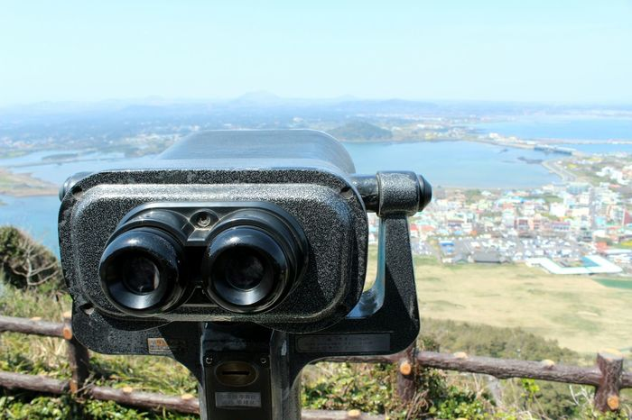 Travel Destinations Cityscape Coin-operated Binoculars Telescope Urban Skyline No People Korea South Korea Outdoors JEJU ISLAND  Jeju Jejuisland Jeju Island, Korea Travel Photography From My Point Of View