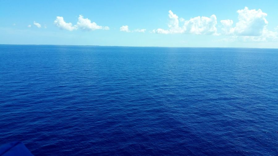 Blue Sea Nature Outdoors Sky Cloud - Sky Scenics Backgrounds Beauty In Nature No People Day Beach Vacations Landscape Water Beauty Horizon Over Water Ocean Bahamas Atlantic Ocean Open Water Open Waters