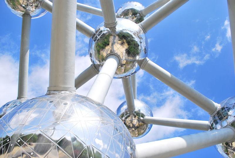 Atom Atomium Atomium Belgium Belgium Brussels City Europe Europe Trip Mechanic Mechanism Mole Strange Trip