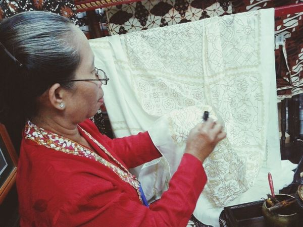 The Story Behind The Picture Traditional Batik INDONESIA