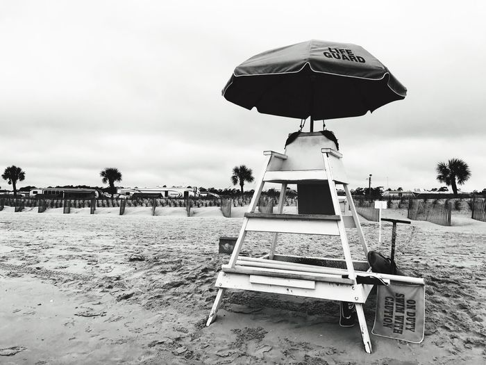 Beachphotography Beach Umbrella Beaches Beachlife Beach Walk Beach Time Beach Day Beach Life Beach Sand Sky Outdoors Day Vacations Lifeguard  Lifeguard Station Lifeguard Tower Lifeguards Lifeguard Stand Lifeguard Chair Sand Chair