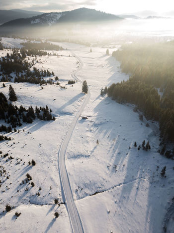 Road Snow ❄ Aerial Photography Beach Beauty In Nature Cold Temperature Day Fog Forest Landscape Mist Nature No People Outdoors Sand Scenics Sea Sky Snow Sunrise Sunrise_sunsets_aroundworld Tranquil Scene Tranquility Water Winter