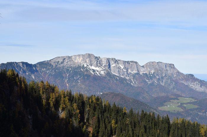 EyeEm Selects Untersberg Berchtesgaden Salzburg Plateau Plain Flat Mystic Mystical Mysterious Border Germany Austria Hazy  Haze