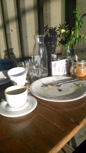 Amsterdam Amsterdam Noord Amsterdam North Close-up Day Food Indoors  No People Plant Plate Plekk Shadow Sunny Table