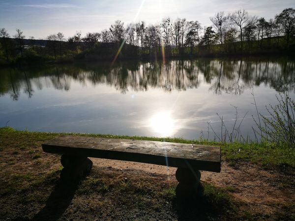 🌹🔆🌹 we now come to something completely new! 🌹🔆🌹 a Bench with Relaxing View 😀😀😀 Water Lake Reflection Nature Outdoors Grass Sky Sunset Beauty In Nature Scenics No People Day Freshness Backgrounds No Filter, No Edit, Just Photography The Purist (no Edit, No Filter) No Edit/no Filter Tranquility Tranquil Scene Senic EyEmNewHere Landscape The Secret Spaces The Secret Spaces The Great Outdoors - 2017 EyeEm Awards