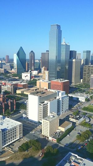 City of Dallas, Texas Dallas DownTownDallas Perfectview Perfection Dallascity Homeofthecowboys PicturePerfect First Eyeem Photo