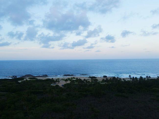 Sea Horizon Over Water Beach Tourism Sky Tree Cloud - Sky Scenics Outdoors Nature City Water Day No People