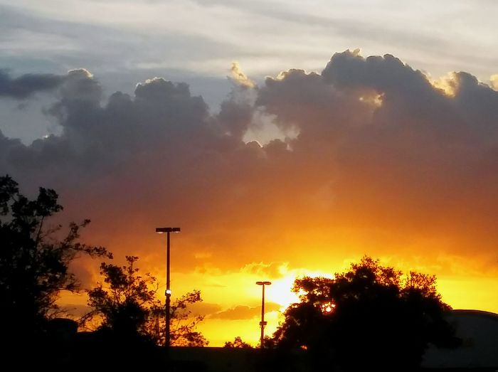 Hot Sunset! Nature Sky Outdoors Beauty In Nature Cloud - Sky Sunset