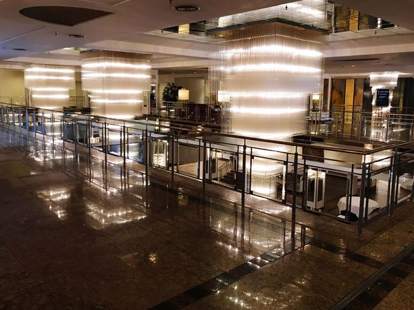 Hotel lobby lights christal interior architecture IPhone 7 Plus IPhoneography Iphonephotography Iphn Photography No People Reflection
