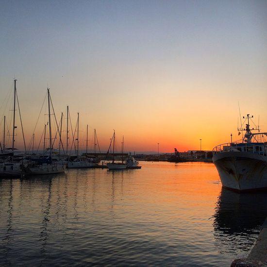 Sicilian sunset First Eyeem Photo