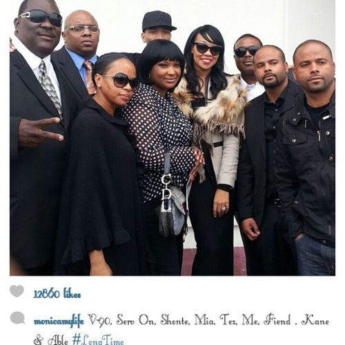REPOST!!! A real throwback seeing these artist all together. @monicamylife RIPMrMagic NoLimitSoldiers MakeEmUuuuuggghhh