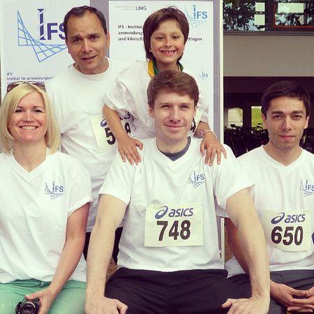 Laufen fürs Leben-Run against cancer