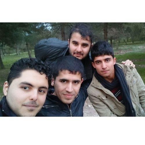 With my great friends @samansmrx @brwal @shallaw_rafiq at Azmar Nocrop Nofilter Me Selfie groupselfie Friend Bros kurd kurdish Kurdistan iraq mountain